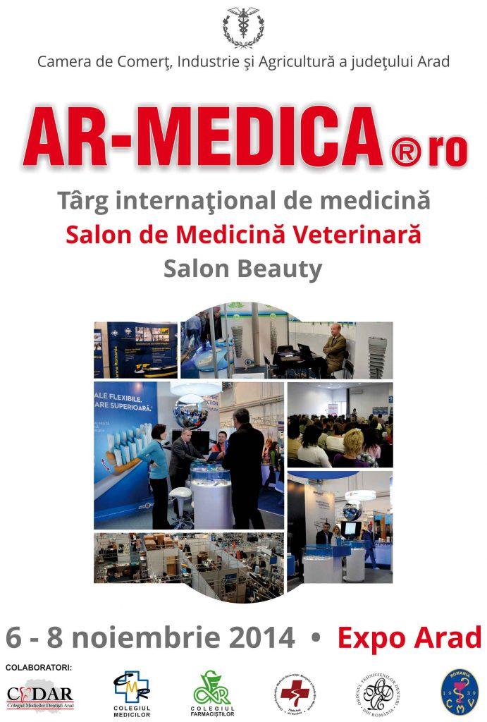 Afis armedica arad a2014