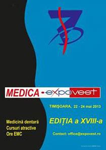 Medica expovest timisora 2013